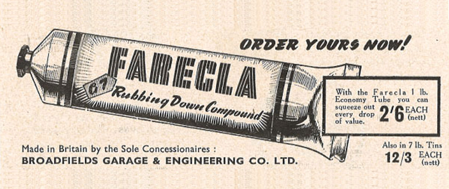 Farécla Rubbing Compound - 1953