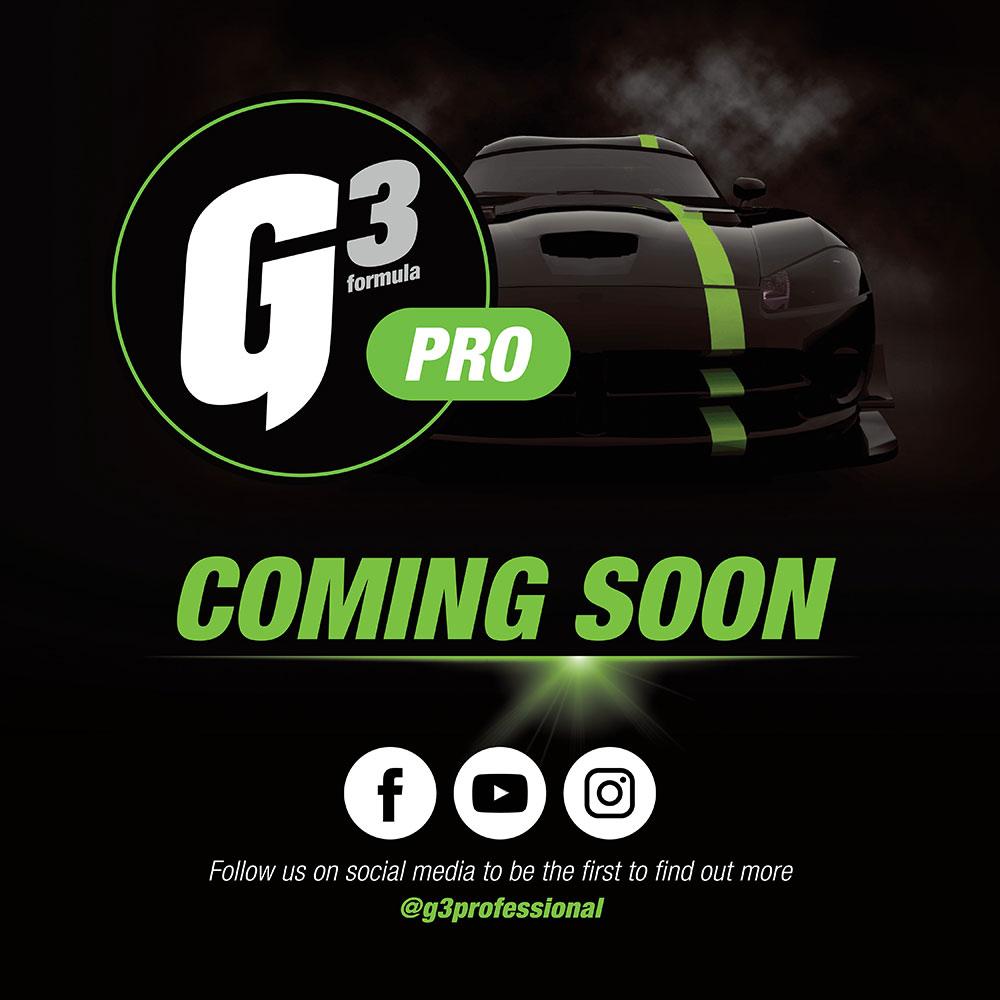 New G3 Pro Range Coming Soon