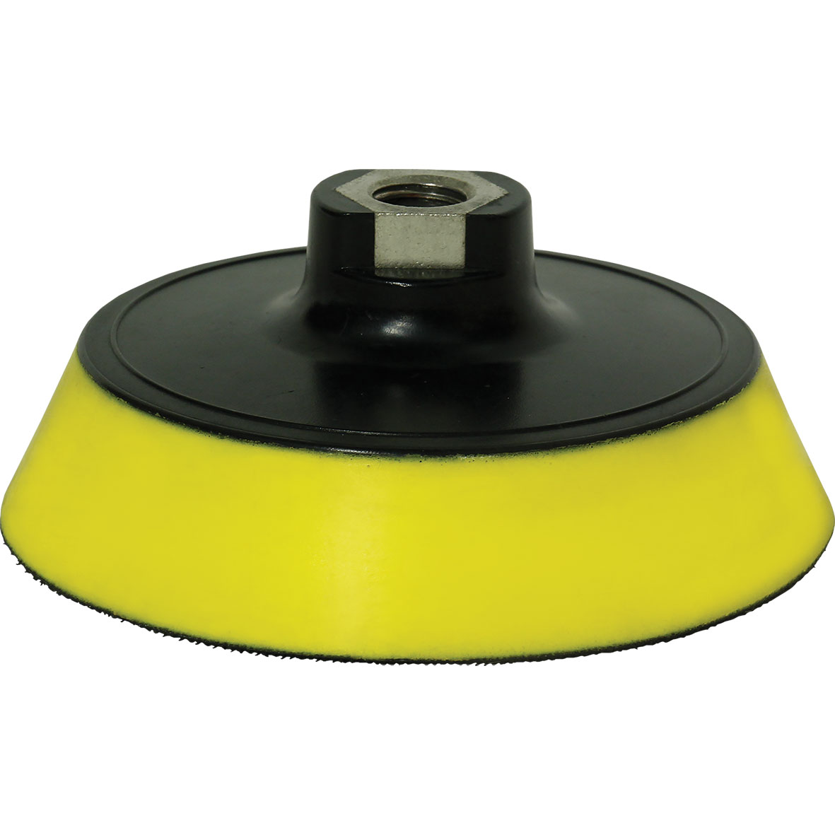 "G Mop Back Plate with Yellow Interface Pad for 6"" Pads"