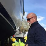 Boat season is coming, which saw Instagram user CornishRose36 polishing his hull with Farécla Profile.