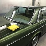Car restoration expert, Walter Chrobok, finished this W123 Mercedes with Farécla.