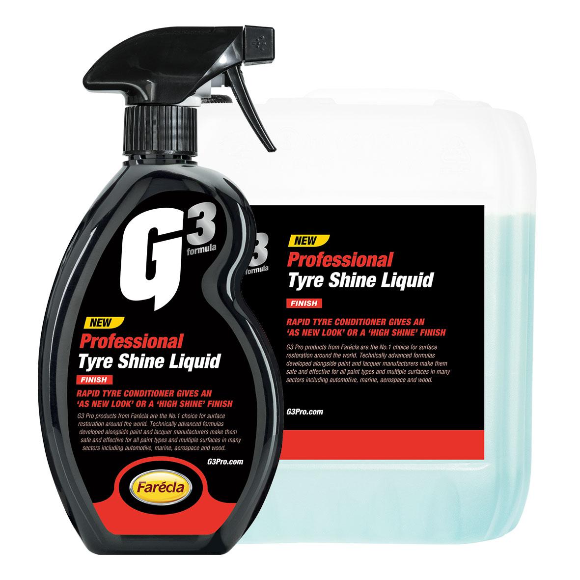 G3 Pro Tyre Shine Liquid