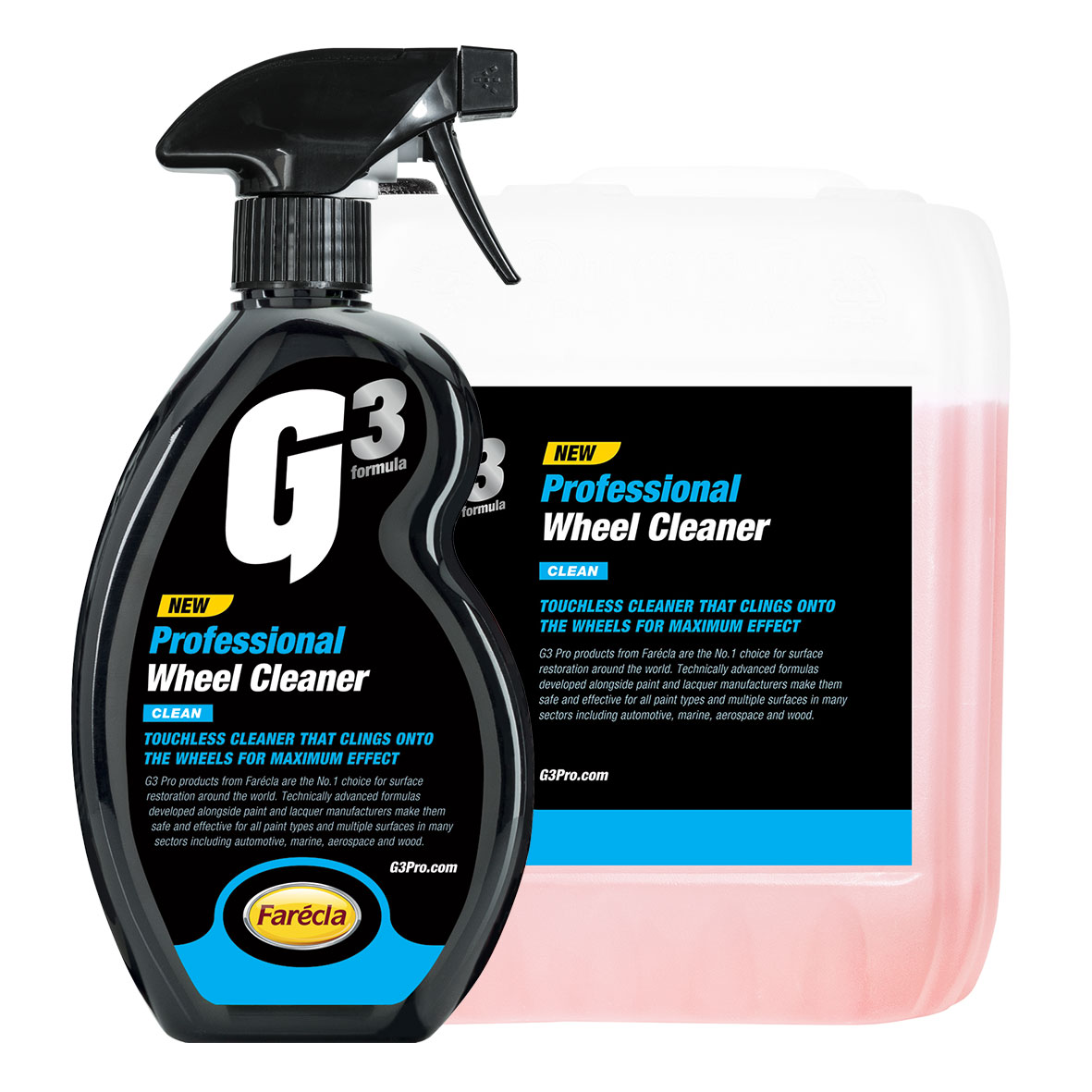 G3 Professional Wheel Cleaner