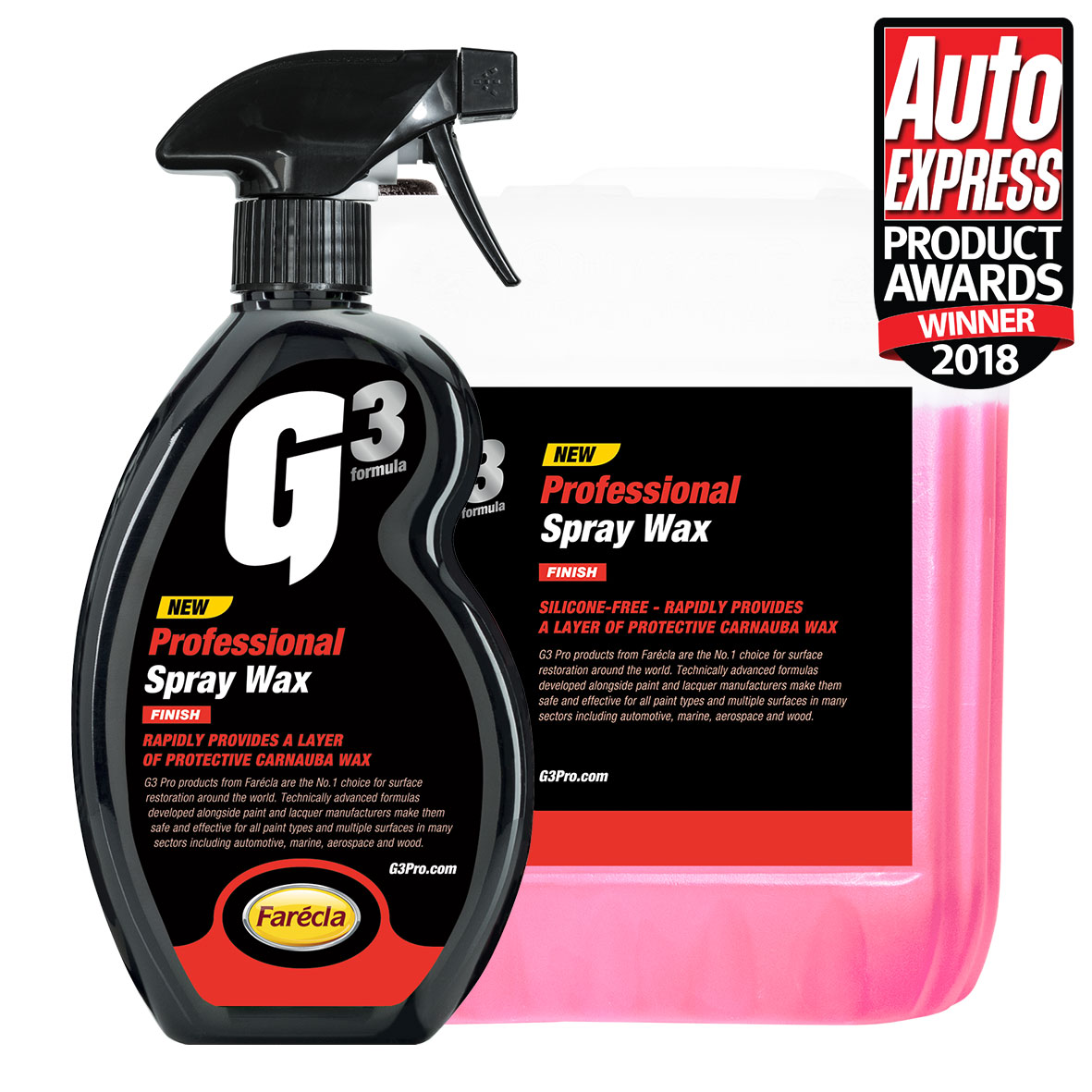 G3 Professional Spray Wax