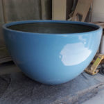 Profile Select finished this giant fibreglass plant pot