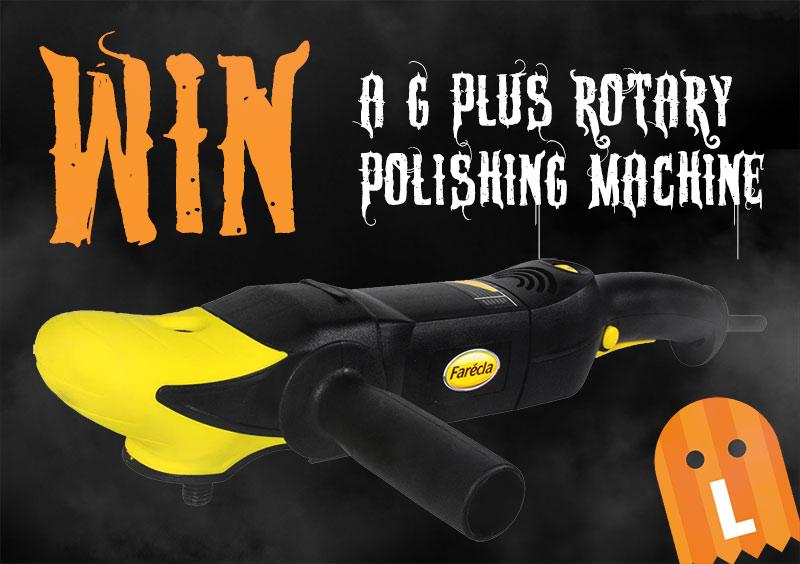 Halloween Hunt - Win a Polishing Machine