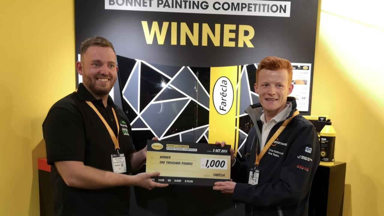 a8bc81e595e Apprentice   Student Bonnet Painting Competition (2018) - Farécla